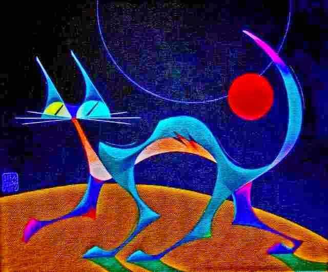 Перуанский художник. Alex Salas Machuca 164