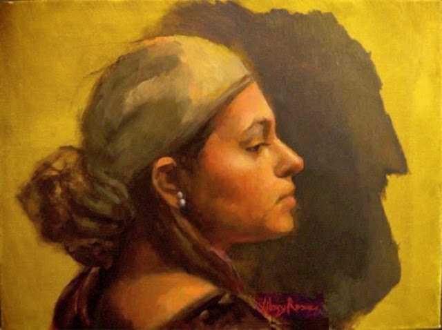 Портретная живопись. Mary Rose 90