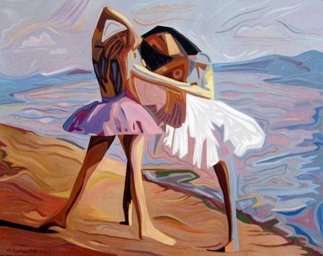 Современный художник из Риги. Andrejs Bovtovics 79