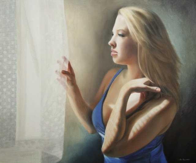 Американская художница-портретист. Anna Bain 88