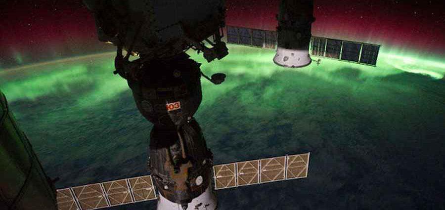 Ночная Земля из космоса 1