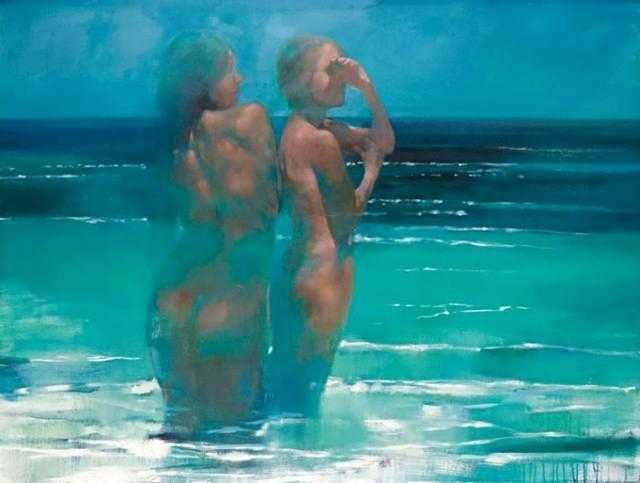 Современный британский художник. Bill Bate 32