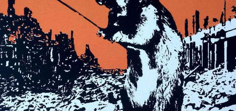 Пионер настенной живописи. Blek le Rat