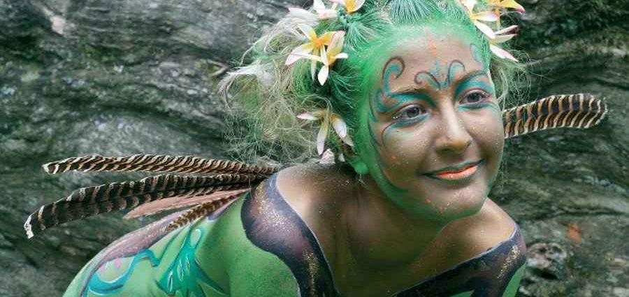 Австралийский бодиарт карнавал