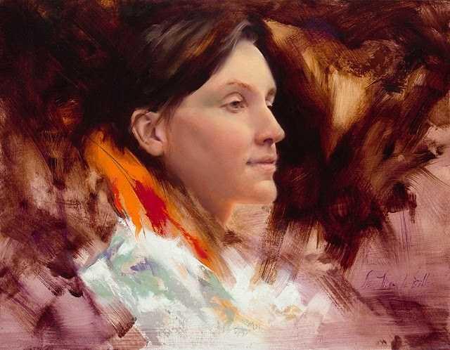 Портреты в импрессионистском стиле. Dean Buhler 85