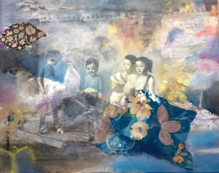 Другая сторона. Корейский художник. Eunjung Seo 192