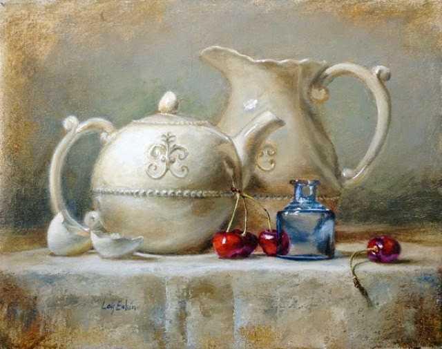 В стиле голландских мастеров и реалистов 20 века. Lois Eakin 7