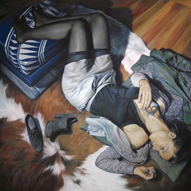Испанский художник. Fran Recacha 22