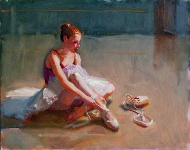 В стиле русского импрессионизма. Jennifer Diehl 89