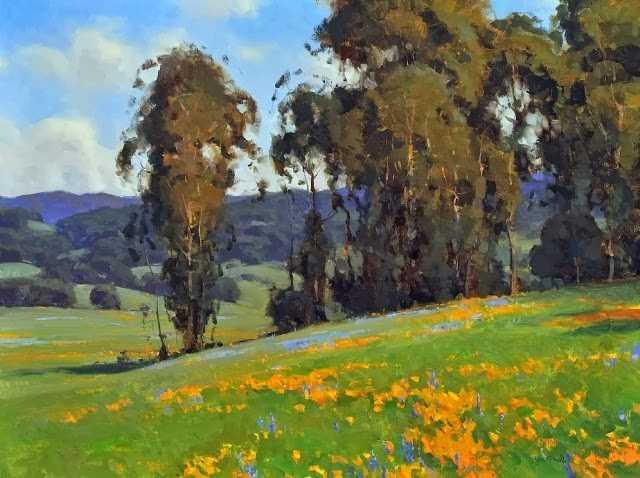 Калифорнийский Импрессионизм. Jesse Powell 87