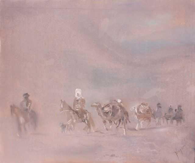 Киргизский художник. Канат Нагаев 1