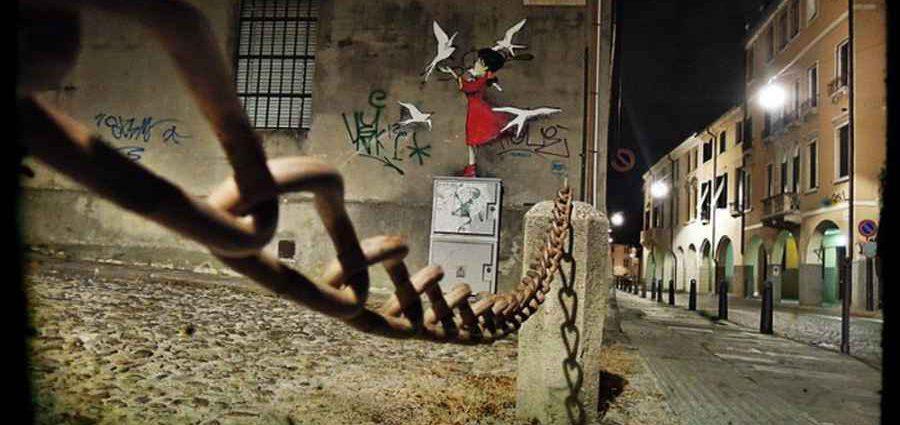 Kenny Random. Итальянский уличный художник