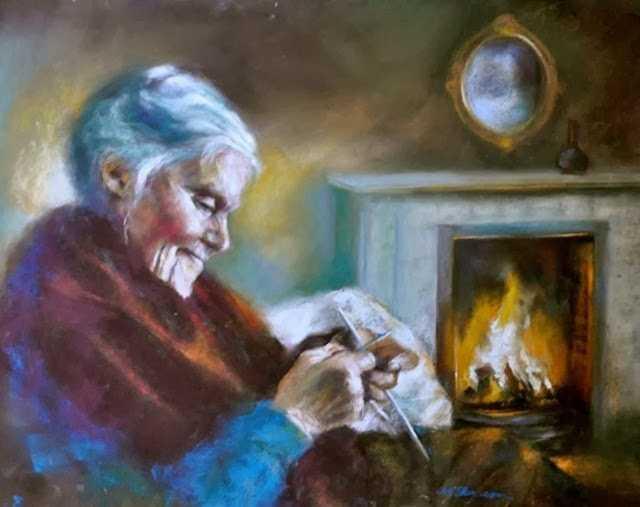 Рисунки пастелью. Margaret Ferguson 81
