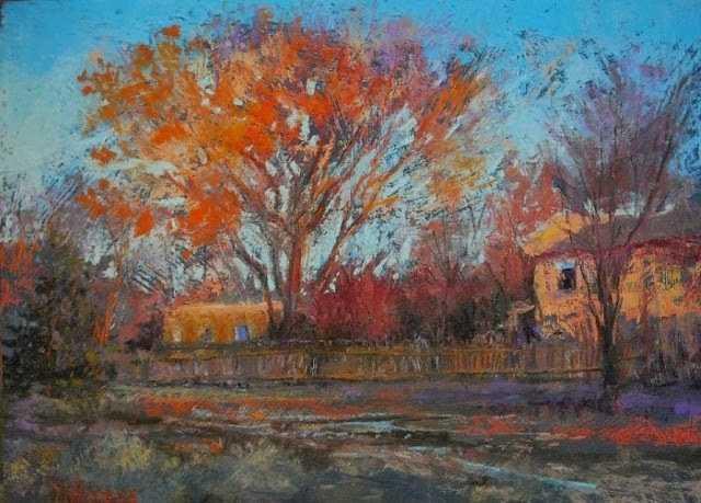 Пейзажи пастелью. Margi Lucena 79