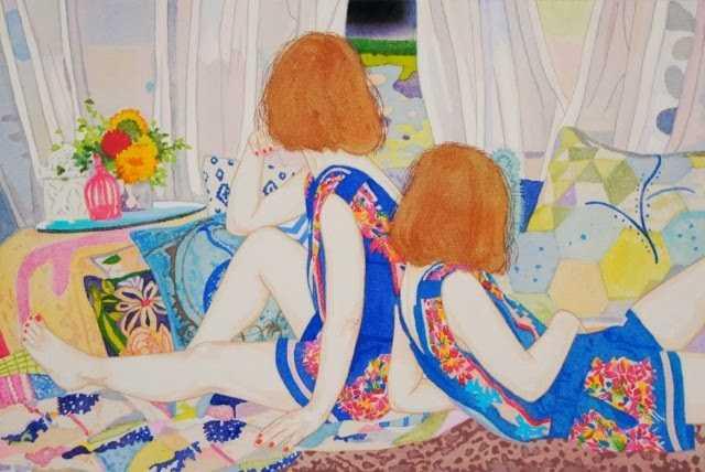 Своеобразная художница. Naomi Okubo 327