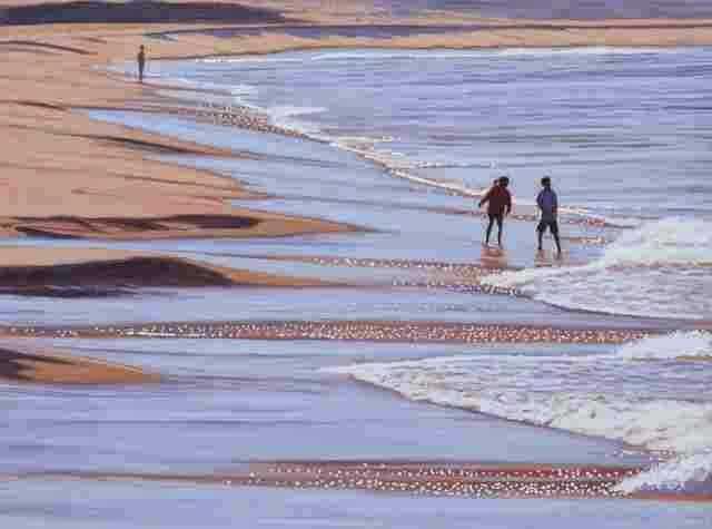 Море и пляжи. Paul Haggith 1