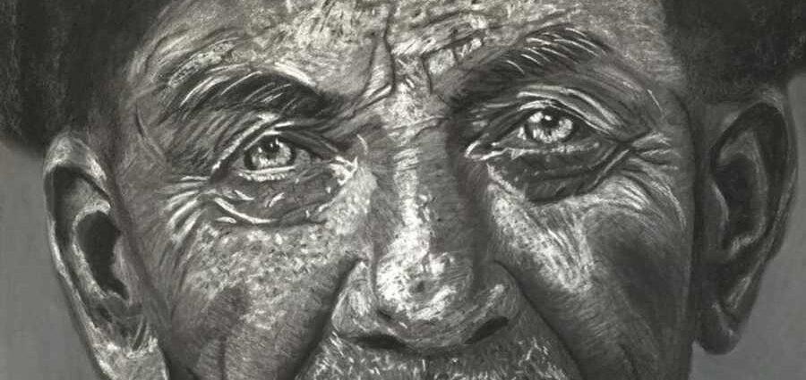 Портреты пожилых людей. Erdna Andre