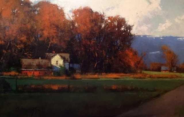 Пейзажи. Romona Youngquist 198