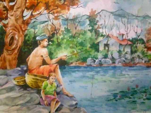 Индийский художник. Shreehari Manakkal 1