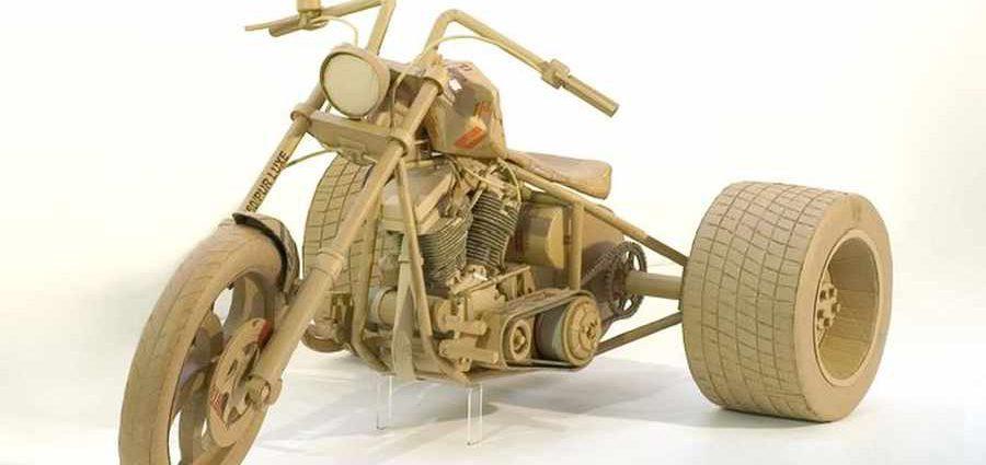 Скульптуры из картона. Chris Gilmour