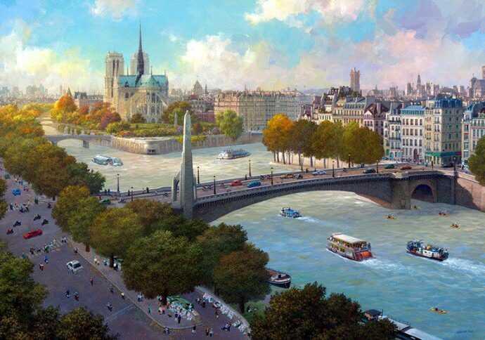 Alexander Chen. Цветные города 145