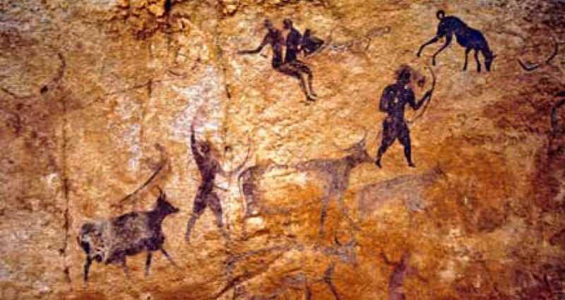 Африканская наскальная живопись Тассили-н-Ажер (статьи) 1