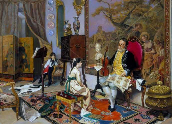 Fernando Lopez Pascual. Современный испанский художник 317