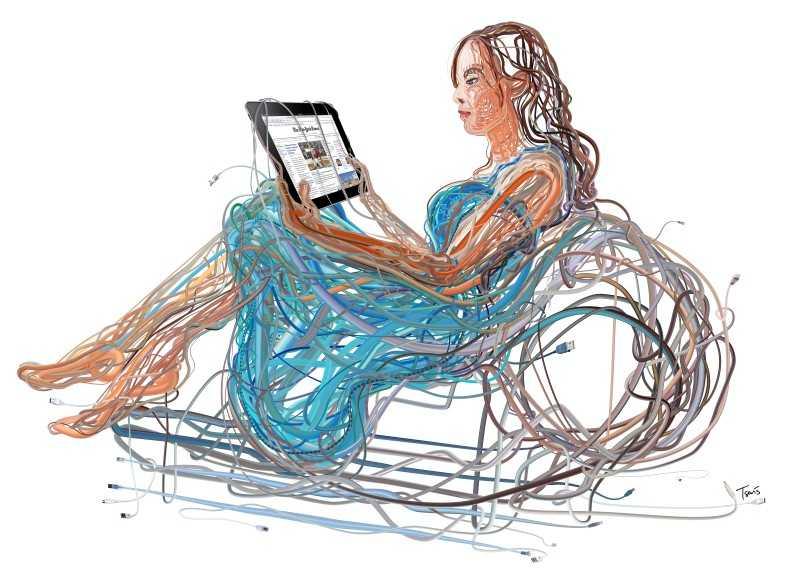 Иллюстрации Charis Tsevis 31