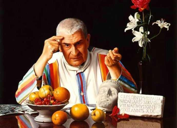 Luciano Ventrone. Реалистичные рисунки 397