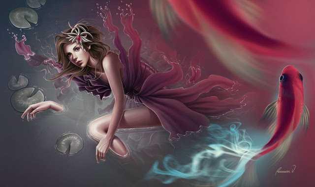 Красивые рисунки близняшек Valentina and Marina Remenar 3