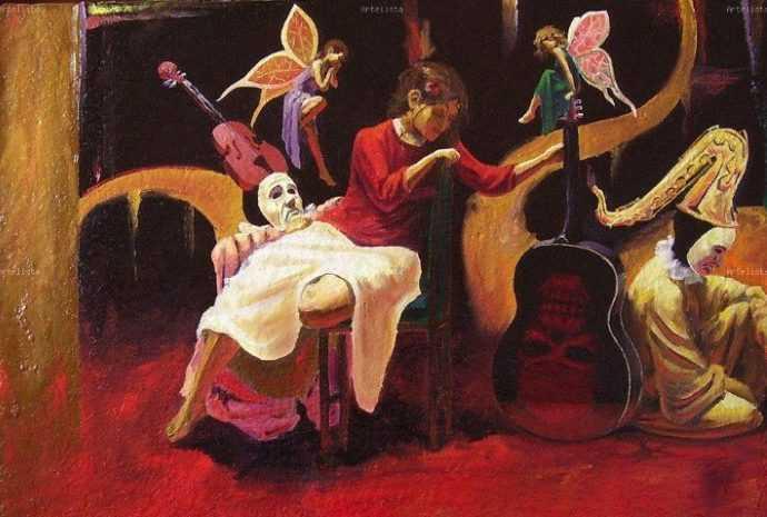 Ricardo Cruz Fuentes. Современный мексиканский художник 118