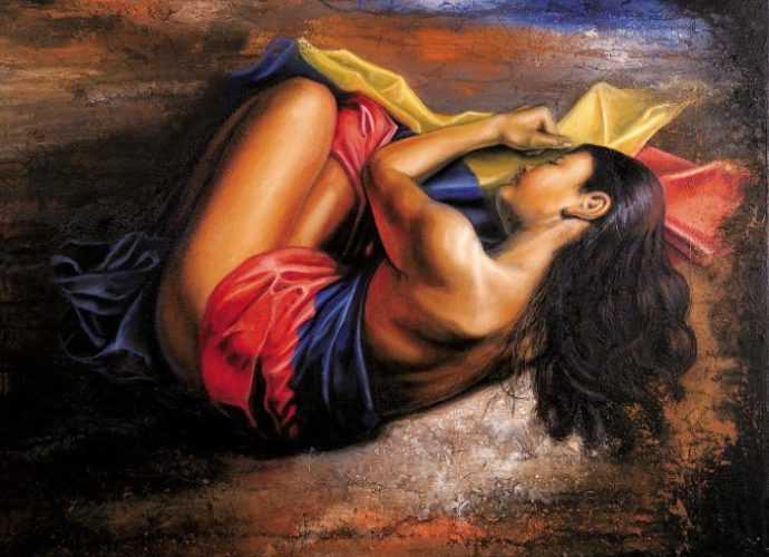 Jose Gabriel Acuna. Колумбийский художник и скульптор 65