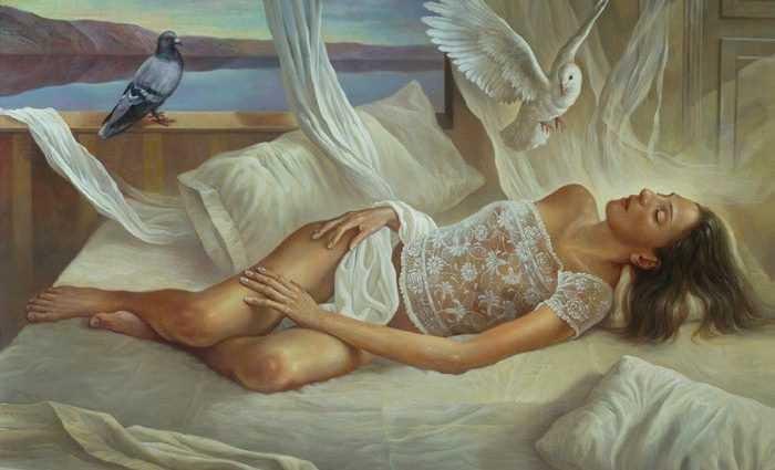 Испанский художник-сюрреалист. Alberto Pancorbo 1