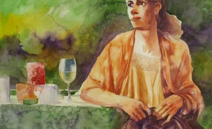 Акварельные рисунки. Alessandro Andreuccetti 1