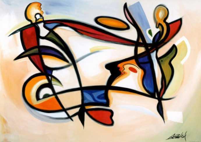 Современные художники. Alfred Gockel 332
