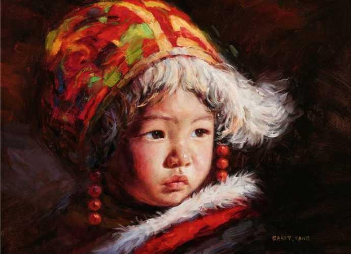 Barry Yang. Портреты детей 245