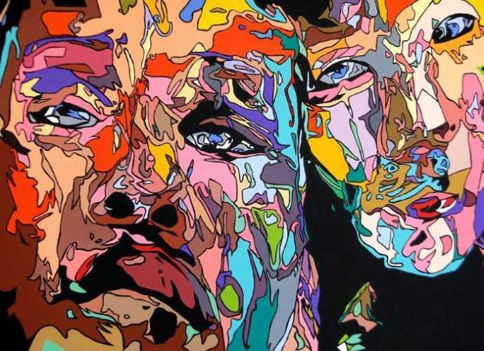 Carlos Villabon. Испанский художник. Акрил 4