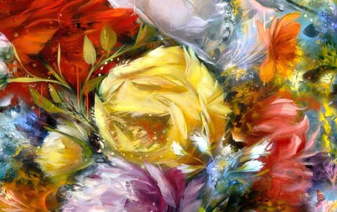Рисунки цветов. Carmelo Blandino 261
