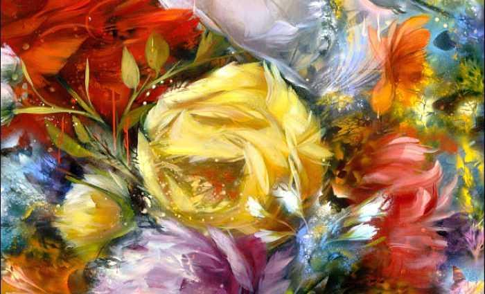 Рисунки цветов. Carmelo Blandino 1