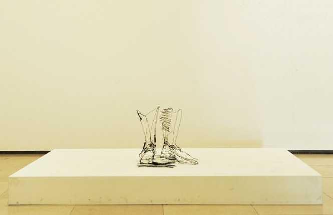 Проволочные скульптуры. David Oliveira 300