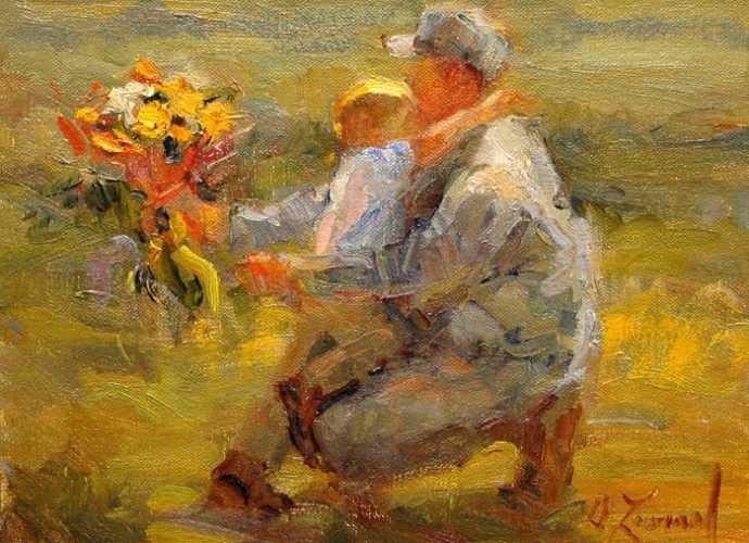 Современный американский импрессионист. Diane Leonard 143