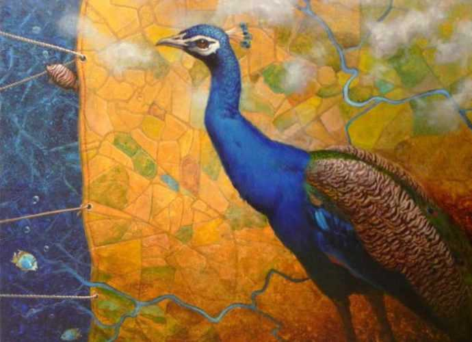 Dipak Kundu. Художник из Индии 19