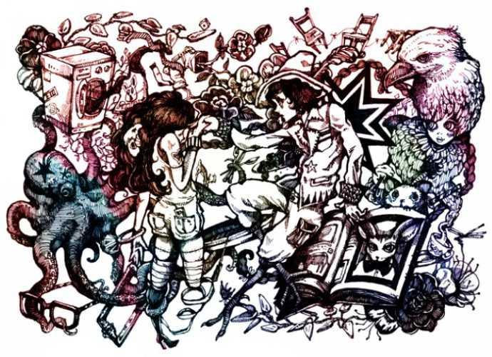Natsuki Otani. Иллюстратор из Британии 255