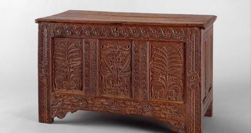 Американская мебель, 1620-1730 годы 1