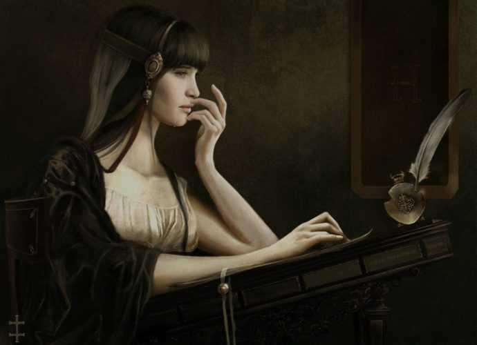 Eve Ventrue. Фантазии художницы 266