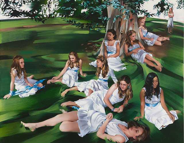Картины - воспоминания. Rebecca Campbell 139