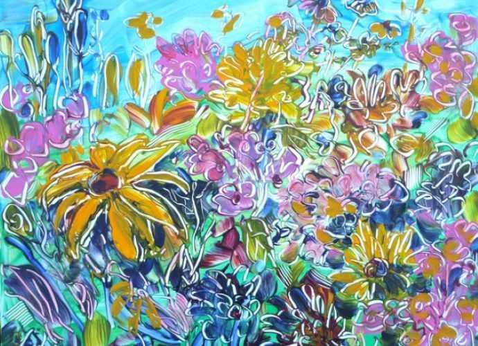 Цветы из сада. Flora Doehler 372