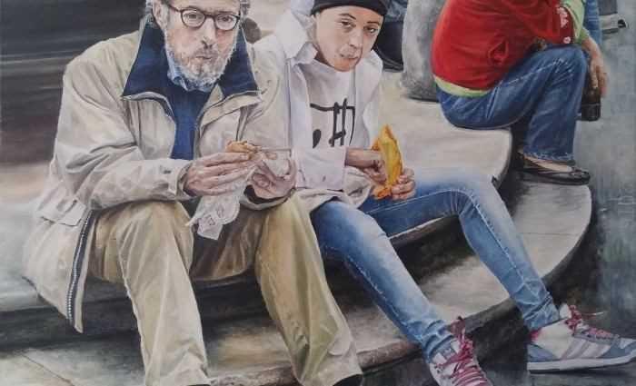 Французский художник. Gael Patin 1