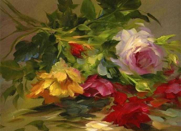 Цветочные картины. Gary Jenkins 307