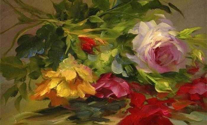 Цветочные картины. Gary Jenkins 1